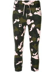 The Upside Camouflage Cropped Leggings Multicolour