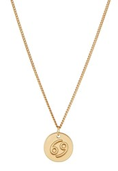 Sweet Deluxe Cancer Necklace Goldcoloured