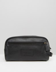 Barbour Leather Wash Bag Multi