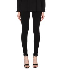 Givenchy Star Detail Stretch Crepe Leggings Black