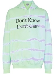 Ashley Williams Aw Don't Know Hoodie Tiedye Blue