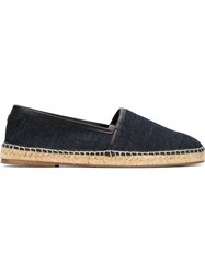 Dolce And Gabbana Denim Espadrilles Blue