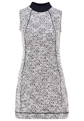 Bellfield Benaco Shift Dress Multi Off White