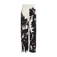 Dries Van Noten Printed Jeans Black