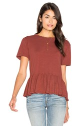 Candc California Olivia Top Red