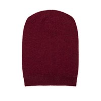 Barneys New York Cashmere Slouchy Hat Red