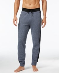 Kenneth Cole Reaction Men's Downtime Marled Lounge Pants Indigo Heather