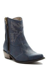 Michael Antonio Bonney Cowgirl Boot Blue