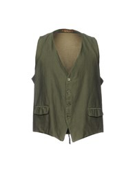Jey Coleman Cole Man Vests Military Green