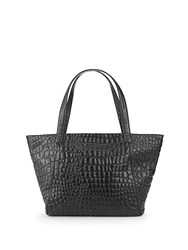 Liebeskind Textured Leather Tote Oil Black