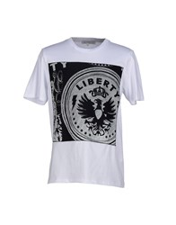 Leitmotiv Topwear T Shirts Men White