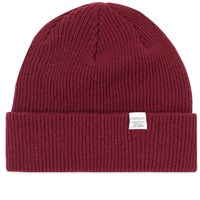 Norse Projects Beanie Burgundy