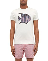 Ted Baker Fish Graphic Tee Ecru
