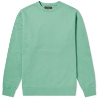 Beams Plus Crew Sweat Green