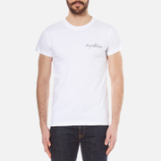 Maison Labiche Men's 99 Problems Heavy T Shirt White