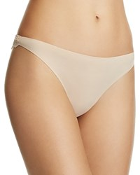 Stella Mccartney Smooth And Lace Thong S37 250 Light Rose