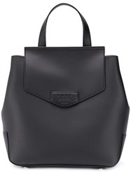Dkny Embossed Logo Backpack Black