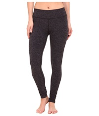 Beyond Yoga Spacedye Long Essential Leggings Black Steel Spacedye Women's Casual Pants