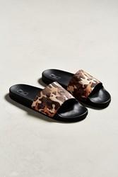 Urban Outfitters Uo Camo Slide Sandal Assorted