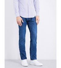 Slowear Slim Fit Stretch Cotton Jeans Indigo