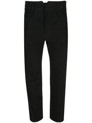 Haider Ackermann Combination Trousers Black