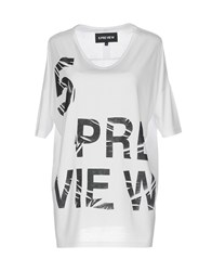 5Preview T Shirts White