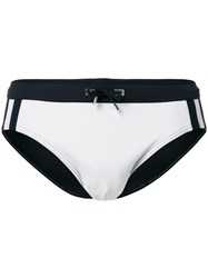 La Perla Bicolour Swimming Briefs Grey