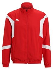 Erima Classic Team Tracksuit Top Red White