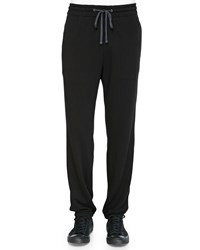 James Perse French Terry Sweatpants Black
