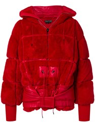 Tom Ford Puffer Coat Red