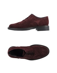 Gold Brothers Lace Up Shoes Dark Blue