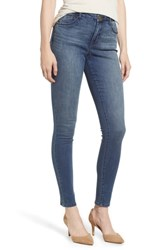Wit And Wisdom Ab Solution High Waist Skinny Jeans Blue