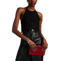 Manning Cartell Floral Lace Crop Top Black