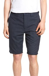 O'neill Men's Delta Glen Plaid Shorts Dark Navy