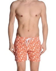 Barba Swimming Trunks Rust