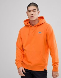 Dickies Progresso Hoodie With Small Reflective Logo In Orange