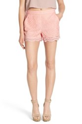 Devlin Willow Lace Short Pink