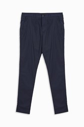 Stone Island Men S Cotton Stretch Tapered Chino's Boutique1 Navy