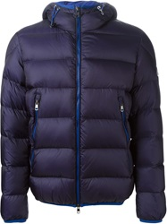Moncler 'Chauvon' Padded Jacket Blue