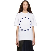 Etudes Studio White Europa Wonder T Shirt