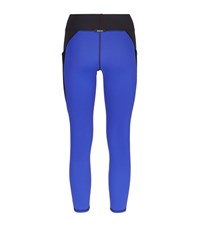 Michi Suprastelle Cropped Leggings Female Blue