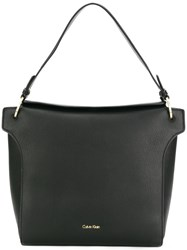 Calvin Klein Single Strap Tote Bag Black