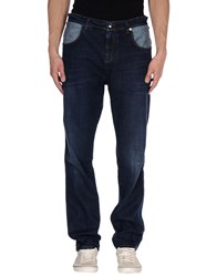 Versace Jeans Denim Denim Trousers Men Blue