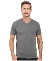 Mod O Doc Del Mar Short Sleeve V Neck Tee Stormy Men's T Shirt Gray