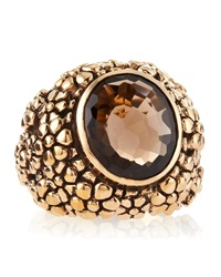 Stephen Dweck Smoky Quartz Ring Red