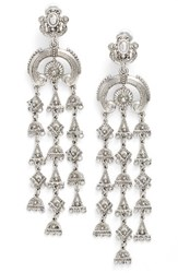 Oscar De La Renta Women's Ornate Charm Drop Earrings