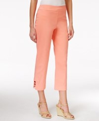 Jm Collection Petite Pull On Capri Pants Only At Macy's