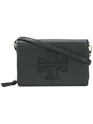 Tory Burch Flat Zipped Crossbody Bag Black
