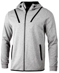 Ideology Id Men's Ajax Zip Hoodie Created For Macy's Grey Heather