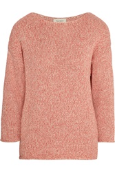 Paul And Joe Tilapia Knitted Cotton Sweater Pink
